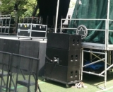 Cardoid sub design Summerstage NYC