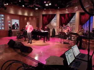 Andrea Bocelli performs at QVC
